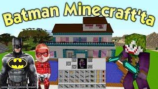Batman Örümcek Bebek sayesinde Minecraft'a gitti. Yeni bölümde Joker silahlarıyla Batman'i bekliyor. Minecraft maceraları Batman Örümcek Bebek ve Joker ile devam ediyor. Venom tarafından hazinesi saklanan ama bunu Batman'in yaptığını düşünen Joker bir sürü silah ile Minecraft'a geliyor ve çeşitli tuzaklarla Batman'den intikam almak için bekliyor. Hiçbir şeyden haberi olmayan Batman ise Örümcek Bebek ile beraber Minecraft'ta güzel vakit geçireceğini düşünüyor.Bu Videonun İlk Bölümü Burada: https://www.youtube.com/watch?v=ZD8RgJMS9NMYENİ VİDEOLARI KAÇIRMAMAK İÇİN BURADAN ABONE OLABİLİRSİNİZ (Ücretsiz) https://www.youtube.com/channel/UCIydQffIBA0Hrey3NpZwA-g?sub_confirmation=1DİĞER MİNECRAFT VİDEOLARINI AŞAĞIDAKİ LİNKTE BULABİLİRSİNİZhttps://www.youtube.com/playlist?list=PLywBKtqou91x5oDMUgXVm1rD6zbI7aJ9r- EN SEVİLEN ÖRÜMCEK ADAM ÇİZGİ FİLMLERİ BURADAN İZLEhttps://goo.gl/h5dyKM- KANALIMIZDAKİ DİĞER VİDEOLARA BURADAN GÖZ ATINhttps://goo.gl/lKnCilÖrümcek Adam Şimşek McQueen ve Örümcek Çocuk hayranlarından biriyseniz ve çizgi film izlemek hoşunuza gidiyorsa kanalımıza aşağıdaki linkten ücretsiz üye olarak siz de aramıza katılabilir ve yeni bölümleri kaçırmadan izleyebilirsiniz.ABONE OL: https://goo.gl/lBiwX6