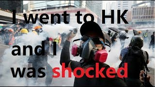 Hong Kong riots - violent thugs try to intimidate the majority but the truth cannot be crushed