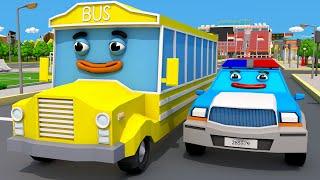 Video Coche de Policía con el Pequeño Autobús! COCHES de Servicio. Dibujo animado de Coches Para Niños MP3, 3GP, MP4, WEBM, AVI, FLV April 2019