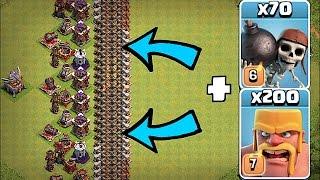 Video IMPOSSIBLE WALL BASE!!🔸THE GREAT WALL!!!🔸Clash Of Clans MP3, 3GP, MP4, WEBM, AVI, FLV Oktober 2017