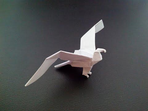 Как сделать орла модульное оригами
