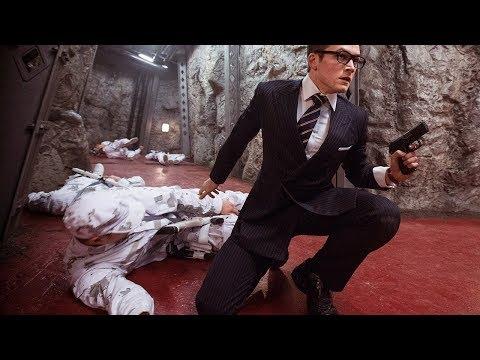 "Kingman: The Secret Service ""Count Down"" Scene 1080p"