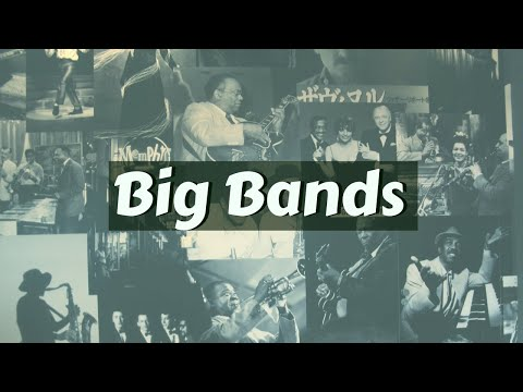 Jazz Big Bands - Louis Armstrong, Glenn Miller, Duke Ellington...