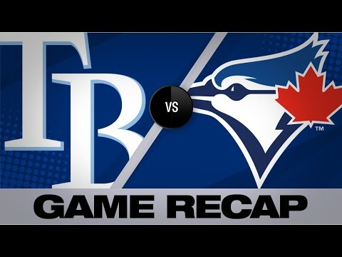 Video: Meadows, d'Arnaud lift Rays over Blue Jays | Rays-Blue Jays Game Highlights 7/26/19