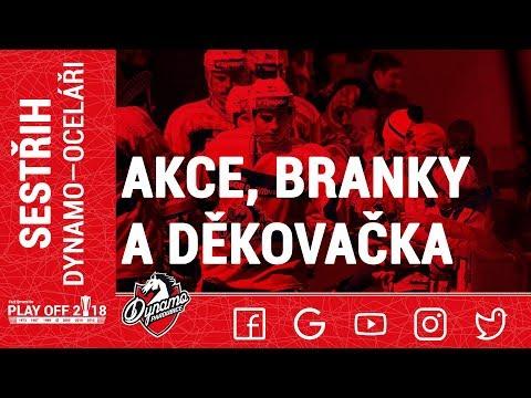 AKCE, BRANKY A DĚKOVAČKA: Dynamo srovnalo sérii s Oceláři na 2:2