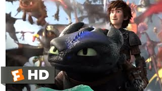 Video How to Train Your Dragon 2 - Toothless Fights Back Scene | Fandango Family MP3, 3GP, MP4, WEBM, AVI, FLV Juni 2019