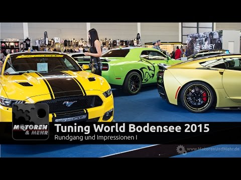 Tuning World Bodensee 2015 Messe-Rundgang