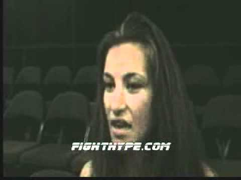 Miesha Tate Its on to step two which is getting that belt
