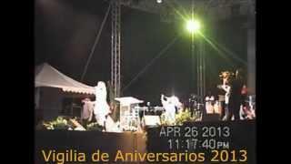 Ruth Mixter Y Banda RAV Ministrando En La Vigilia Del Doble Aniversarios 2013