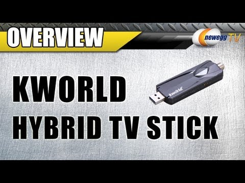 Newegg TV: KWorld Hybrid TV Stick UB445-U2 USB 2.0 Interface Overview