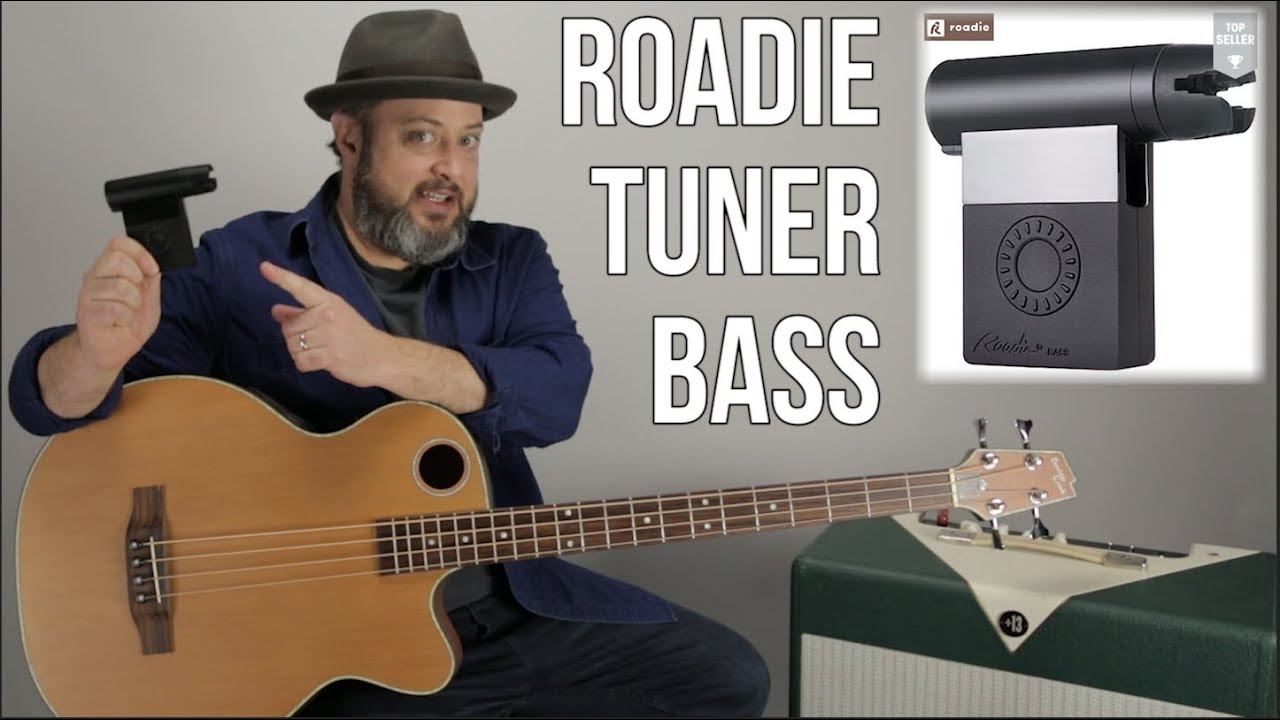 Roadie Bass and Guitar Automatic Guitar Tuner // AMAZING!! Thursday Gear Videos