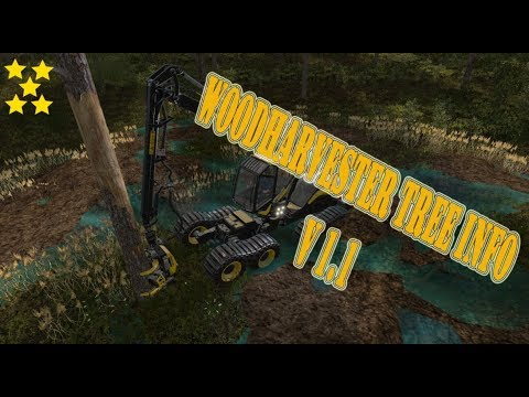 Woodharvester Tree Info v1.1