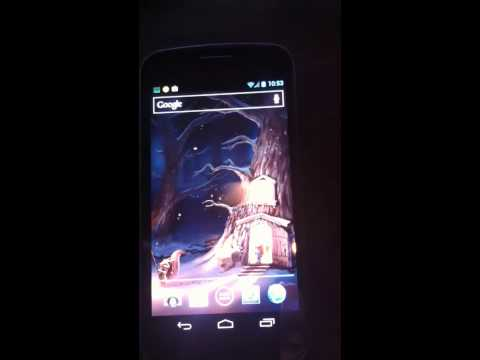 Video of The First Snow Live Wallpaper