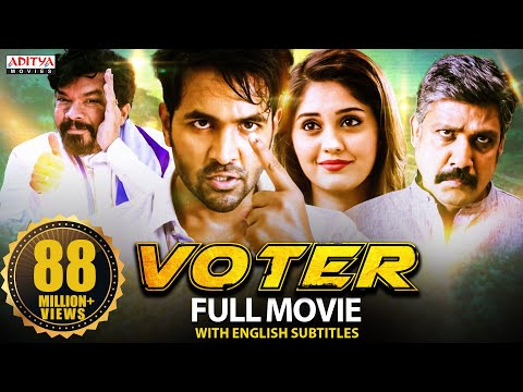 Voter New Hindi Dubbed Full Movie (2021) | Latest Hindi Dubbed Movie | Vishnu Manchu , Surabhi
