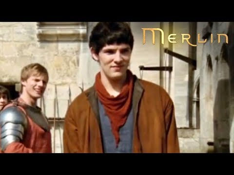 Merlin - Series 1 - Episode 1 - Merlin Meets Arthur Pendragon (2008)