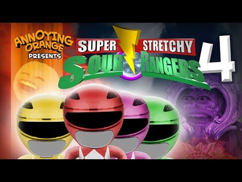 Annoying Orange - Sour Rangers 4! (ft. Ciara Hanna From Megaforce)