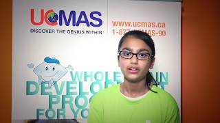 UCMAS Students & Their Memories