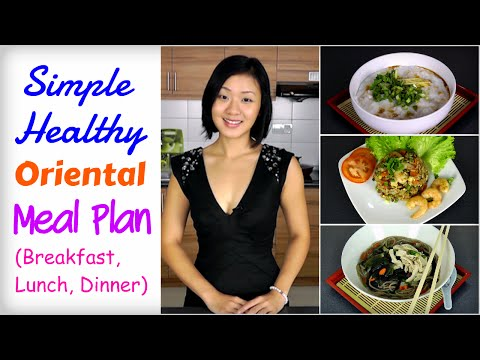 Healthy Asian Meal Plan to Lose Weight