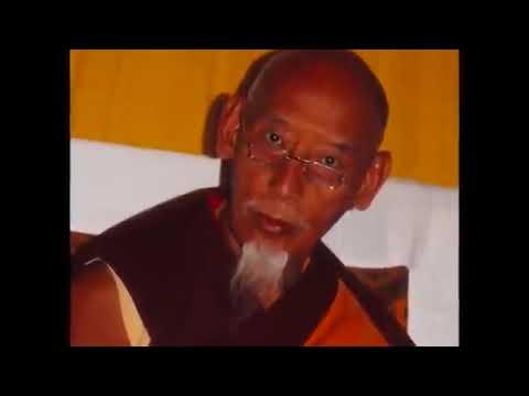 H.H. Kyabje Zong Rinpoche and Dorje Shugden
