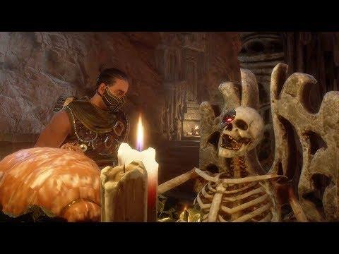 Mortal Kombat 11 - Goro & Kano Movie Scene Easter Egg (MK11)