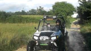 9. Polaris Ranger rzr 800 s by Gardaquad passaggio guado