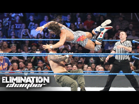 SmackDown Tag Team Championship Turmoil Match: Elimination Chamber 2017 (WWE Network Exclusive)