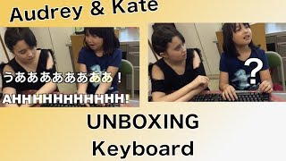 Got this keyboard from a store (Sanwa Supply - SKB0L1BK.) It was only like $7.  It's a full size keyboard. Kate sensei loves it ;-D Thanks so much for watching!!サンワサプライのSKB-L1BKを手に入れました。とっても安くて700円くらいでした。フルサイズキーボードで、ケイト先生も気に入ったようです。Thanks so much for watching!!