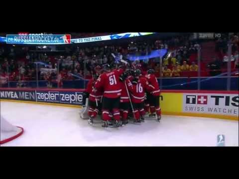 Switzerland - IIHF World Championship 2013, All Goals, SWITZERLAND - USA.