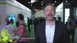 Get a recap of the big NVIDIA news from SIGGRAPH 2017.  NVIDIA's Greg Estes, VP of Developer Programs, hits all the highlights on AI, VR, robotics and more. Get a recap of our news from #SIGGRAPH2017. Greg Estes, VP of NVIDIA Developer Programs, hits all the highlights on AI, #VR, robotics and more. http://nvda.ws/2vmP0Vw