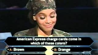 "Lisa ""Left Eye"" Lopes on Who Wants to be a Millionaire Top of the Charts edition (music edition) - YouTube"