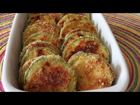 Zucchini Chips -- Baked Zucchini Chips --The Frugal Chef
