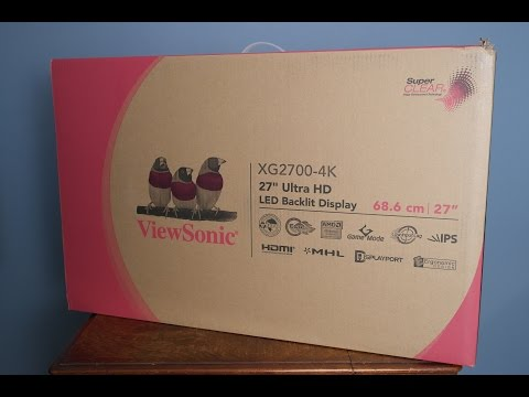 Viewsonic XG2700-4K IPS Gaming Monitor - Review