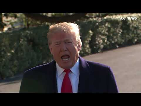 Donald Trump fires Secretary of State Rex Tillerson | ITV News