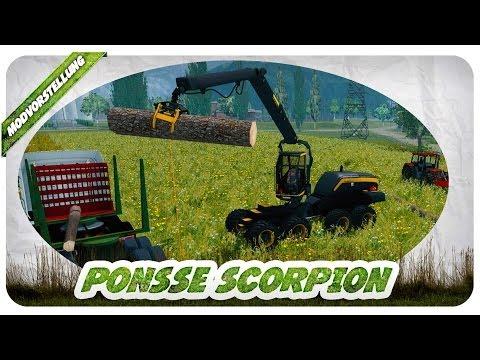 DER LS 15 SCHON DA? DANKE Tackleberry! Ponsse Scorpion Mod für LS 13