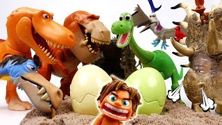 Video Egg Stealers Are Coming~! The Good Dinosaur, Protect Our Eggs - ToyMart TV MP3, 3GP, MP4, WEBM, AVI, FLV Juli 2018