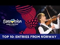 TOP 10: Entries from Norway