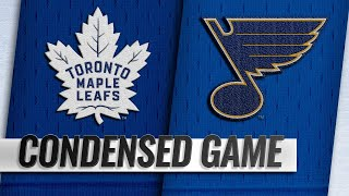 02/19/19 Condensed Game: Maple Leafs @ Blues by NHL