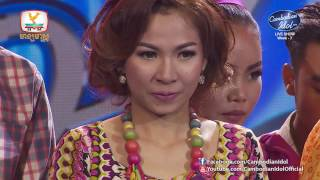 Khmer TV Show - Cambodian Idol Season 2 | Live Show Week 7