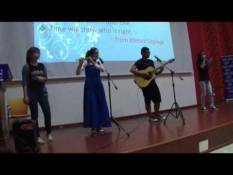 Zaman University-CAMBODIA- Turkish Portfolio Rehearsal 2014-Turkish Song(Hayat Bayram Olsa) (видео)