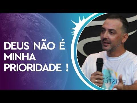 27/01/2019 - Deus não é Minha Prioridade - Apóstolo Cristiano Miranda