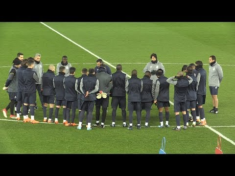 Porto Train At Anfield Ahead Of Champions League Clash With Liverpool