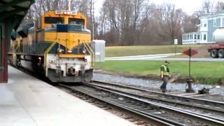 Bennington (VT) United States  city photos gallery : VERMONT RAILWAYS SWITCHING THE TRACKS