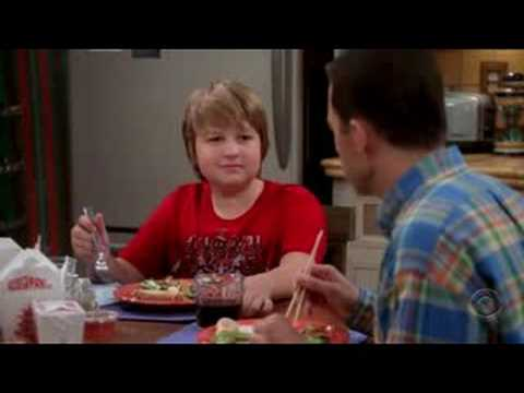 Two and a half men season 5 episode 6 funny moment 1