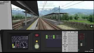[BVE5]甲府ー春日居町 中央本線下り E233系6両 H56 八トタ