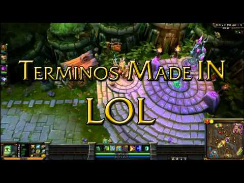 Vocabulario básico de League of Legends