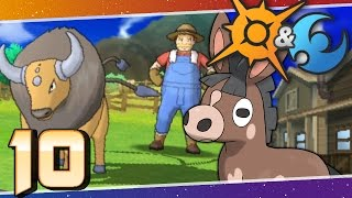 Pokémon Sun and Moon - Episode 10 | Paniola Town and Ranch! by Munching Orange