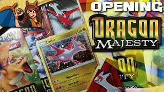 SO HYPED FOR THE NEW SET! Opening a Latias Dragon Majesty Pin Collection of Pokemon Cards! by Flammable Lizard