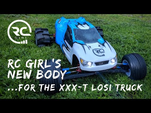 RC GIRL'S NEW BODY  |   For The Vintage XXX-T Losi Truck!