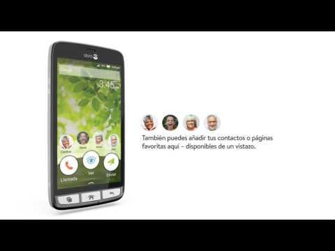 Doro 8031 - Teléfono Móvil Táctil -Negro-