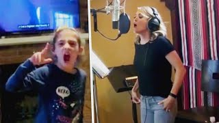 8-Year-Old Signs Carrie Underwood Song